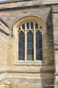 Sharnbrook - St Peter. South aisle, centre window.