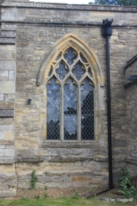 Sharnbrook - St Peter. South aisle, south-west window.