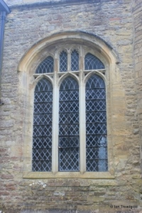 Sharnbrook - St Peter. West tower. centre window.
