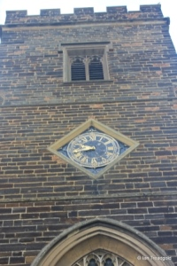 Silsoe - St James. Tower clock.