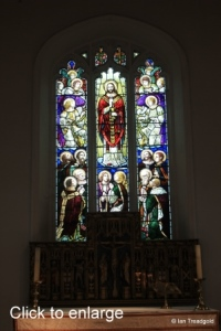 Silsoe - St James. East window internal.