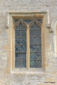Shelton - St Mary. Chancel, south centre window