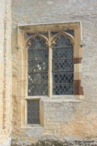 Shelton - St Mary. Chancel, south-western window.