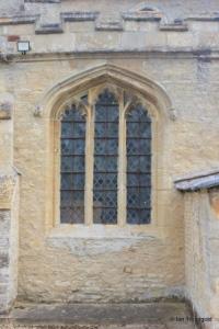 Shelton - St Mary. South aisle, south-west window.