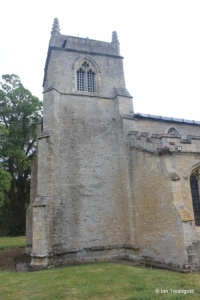 Shelton - St Mary. West tower from the south.