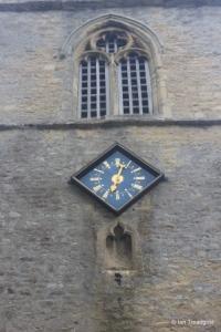 Shelton - St Mary. West tower clock.
