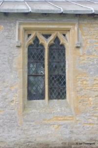 Shelton - St Mary. North aisle, north window.