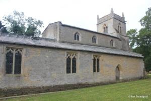 Shelton - St Mary. North aisle and chapel.