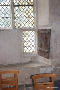 Shelton - St Mary. Chancel, south-western window internal.