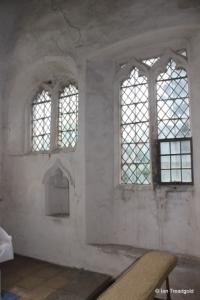 Shelton - St Mary. Chancel, sedilia.