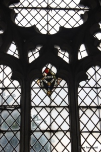 Shelton - St Mary. Medieval glass.