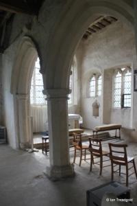 Shelton - St Mary. North chapel arcade.