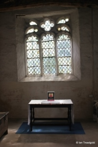Shelton - St Mary. North chapel, east window internal.