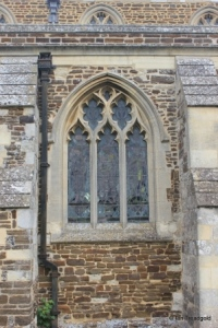 Shillington - All Saints. South chapel, centre window.