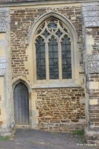 Shillington - All Saints. South chapel, western window.