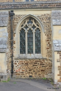 Shillington - All Saints. South aisle, eastern window.