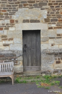 Shillington - All Saints. Tower door.