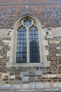 Shillington - All Saints. Tower. west window.