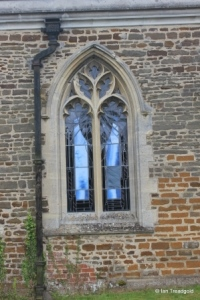 Shillington - All Saints. North aisle, western window.