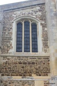 Shillington - All Saints. South chapel, east window.