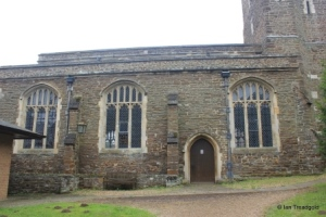 St Andrew parish church, Ampthill. North view.