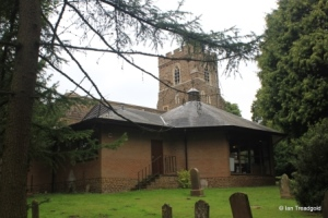 St Andrew parish church, Ampthill. Vestry and chruch rooms.