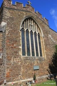 St Andrew parish church, Ampthill. East window.