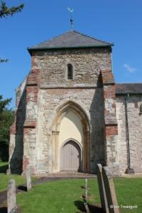St Guthlac parish church, Astwick. Tower.