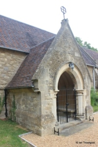 Souldrop - All Saints. South porch.
