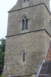 Souldrop - All Saints. Tower from the south-east.