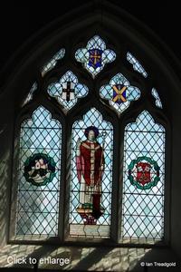 Arlesey, St Peter. East window internal.