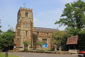 Aspley Guise, St Botolph. View from the south.