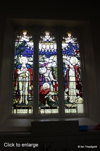 Aspley Guise, St Botolph. Stained glass.