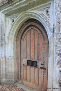 Southill - All Saints. West door.