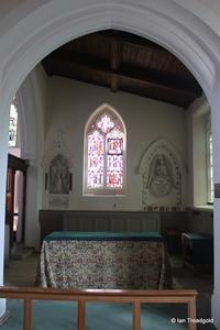 Apsley Guise, St Botolph. South aisle chapel.