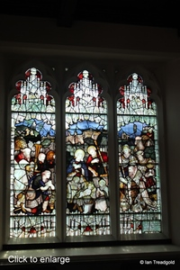 Apsley Guise, St Botolph. Stained glass