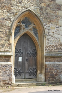 Apsley Guise, St Botolph. West door.