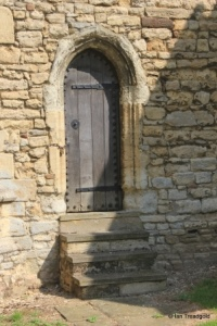 Cranfield - St Peter & St Paul. Tower doorway.