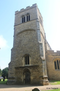 Cranfield - St Peter & St Paul. West tower.