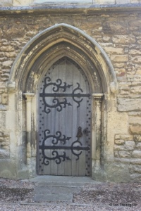 Cranfield - St Peter & St Paul. West door.