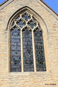Biddenham, St James. East window.
