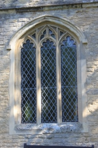 Biddenham, St James. South aisle, south window.