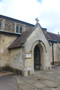 Stanbridge - St John the Baptist. South porch.