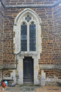 Stanbridge - St John the Baptist. West door and window.