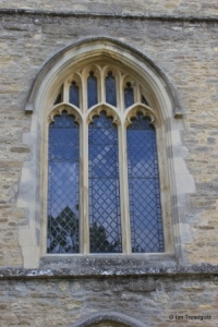 Bromham - St Owen. West window.