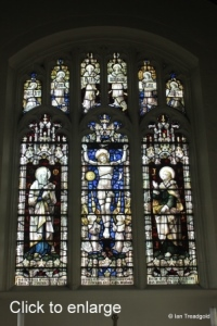 Stanbridge - St John the Baptist. East window, internal.