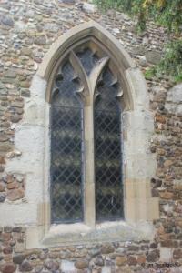 Barton-le-Clay - St Nicholas. North aisle window.