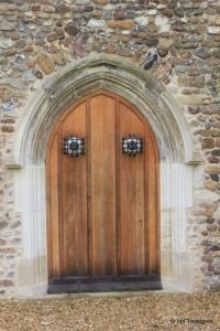 Barton-le-Clay - St Nicholas. North door.