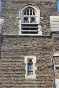 Steppingley - St Lawrence. Tower belfry lights.