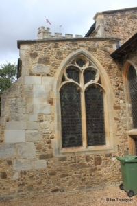 Barton-le-Clay - St Nicholas. South aisle, east window.